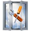 Aliuminiu langų/durų remontas